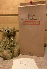 Steiff 1907 Hot Water Bottle Bear 2001 Limited Edition Certificate Box 406621