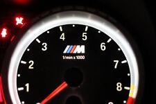 BMW E90 E92 E93 E60 M3 M5 M6 custom light up M logo dial cluster tacho US ECE