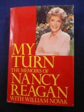 "Nancy Reagan Signed Book ""My Turn"" with COA"