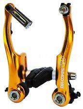 Dia-Compe MX2 MX-2 VC-733 V-brake bicycle brake for BMX or MTB - GOLD ANODIZED