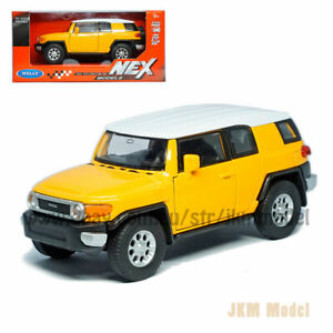 1:39 Toyota FJ Cruiser Model Car Diecast Toy Vehicle Collection Kids Gift Yellow
