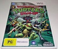 Teenage Mutant Ninja Turtles Smash Up Nintendo Wii PAL *No Manual*