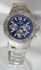 Croton Men's Chronomaster Chronograph Blue Dial Titanium CC311321TMBL Watch