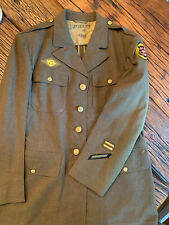 WW2 US Army Enlisted Four Pocket Tank Destroyer Service Jacket