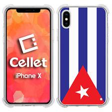 Cuba / Cuban County Flag on iPhone X Case