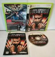X-Men Origins Wolverine - Jeu XBOX 360 Pal français - Complet - Bon état