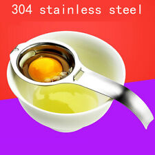 Egg Yolk White Separator Stainless Steel Divider Kitchen Gadgets Cooking T.p