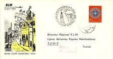 1e KLM vlucht Amsterdam-Tunis (1959) - Open klep