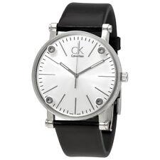 Calvin Klein Cogent Silver Dial Mens Watch K3B2T1C6