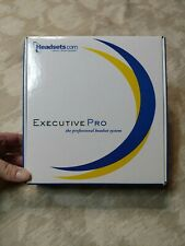 Executive Pro Telephone Headset System