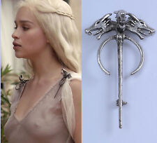 New Dragon Brooch Pin Game Of Thrones Song of Ice Fire Daenerys Targaryen Props