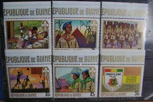 Kl.LOT Republick Guinea Postfrisch