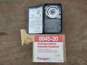 NOS Paragon 8045-00 Defrost Commercial Timer Control, 120V AC, 60 Hz
