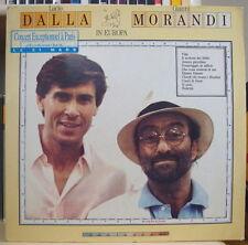 LUCIO DALLA GIANNI MORANDI IN EUROPA GERMAN PRESS LP ARIOLA 1989