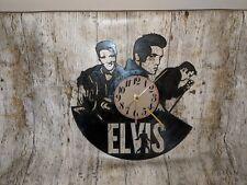 ELVIS PRESLEY Vinyle Horloge Home Decor cadeau
