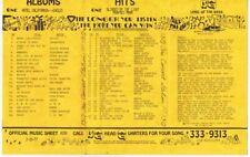 13Q Wktq Pittsburgh Vintage February 19 1977 Music Survey Eagles #1