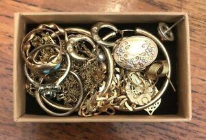 9ct gold Earrings, Bracelet, Chains etc. Wear / Gift / Scrap 16.8gms