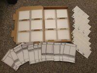 12 NEW Mini Disc Cases PREMIUM PACK & Rare Sony Labels! UK Free! & World Post £6