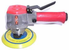 6-Inch Professional Dual Action Random Orbit Air Sander Vinyl  Pad PSA Sandpaper