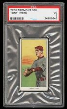 Rare 1909-11 T206 Tony Thebo Piedmont 350 Southern League Waco PSA 3 EX
