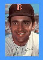 1970 BOSTON RED SOX PHOTO POSTCARD RICO PETROCELLI  EX-MT +