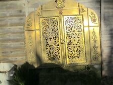 Antique Brass Firer Front Grate grill mantle Surround