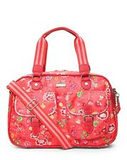 *NEW* Oilily Classic Ivy CARRY ALL BAG Purse in Tangerine - gr8 Diaper Tote too!
