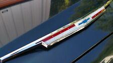 1963 63 Chevy Impala Hood Molding Trim Emblem GM 3819741 Biscayne Belair