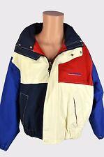 VTG 90's Tommy Hilfiger Color Block Sailing Jacket Men's Super Rare Small S EUC