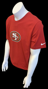 Nike Men's San Francisco 49ers Alex Smith #11 Red NFL Football Shirt Size Small