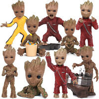 """Guardians of the Galaxy Vol.2 Baby Groot 3"""" Key Chain Figure Statue Gift Toy New"""