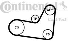 CONTITECH Juego de correas trapeciales poli V para VW SEAT IBIZA 6PK1070K2