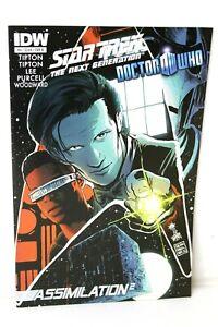 Star Trek Doctor Who Assimilation 2 Squared #4 B 4B 2012 Comic IDW Comics VF