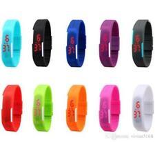 Relojes de pulsera Deportivo de goma resistente al agua