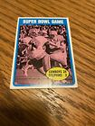 1972 Topps Super Bowl Game Roger Staubach #139 Cowboys Dolphins HOF