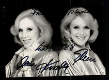 Alice und Ellen Kessler Autogrammkarte Original Signiert ## BC 77848