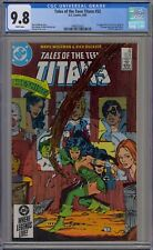 CGC 9.8 Tales of the Teen Titans #52 (Apr 1985, DC) Cheshire! 1st app. of Azrael
