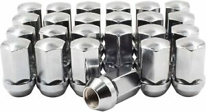 Chrome Lug Nuts for Ram 1500 2500 3500 Dodge Durango Challenger Charger
