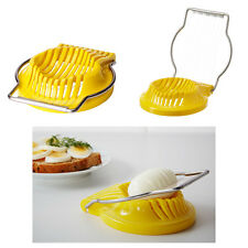 Ikea SLAT Egg Food Fruit Slicer Stainless steel Wire - Yellow