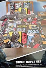 Disney Star Wars Single Reversible Duvet Quilt Cover Bedroom Set - NEW