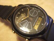 Stunning Rare Vintage Men's Lorus by Seiko V041-8030 Analog & Digital watch!
