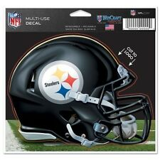 "PITTSBURGH STEELERS ""Helmet"" ~ 5x6 Color Auto Car Window Ultra Decal ~ 2016 New!"