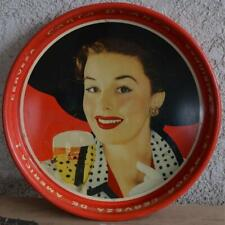 Vintage Carta Blanca Beer Serving Tray