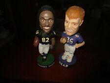 Torrey Smith & Todd Heap Baltimore Ravens Football Bobblehead Doll Lot