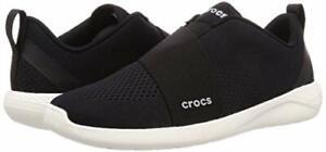 NEW Crocs Literide Modform Slip On Black & White Shoes - Men's Size 8