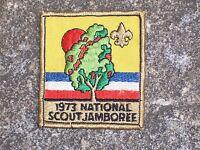 BSA Boy Scout National Scout Jamboree 1973 Patch Boy Scout Patch Vintage