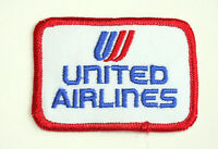 United Airline 1970s Cloth Patch New NOS Jet Plane UAL