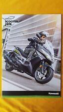 Kawasaki motorcycle bike sales brochure scooter J300 J125 2018 MINT NEW