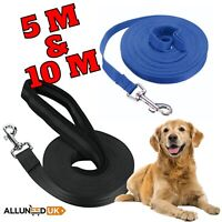🐶Extra Long Dog Training Lead Strong Leash Large Recall Line Walking 5M or 10M