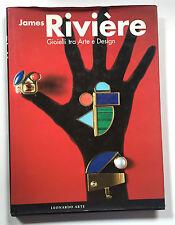 James Riviere Gioielli tra arte e design Autografato Leonardo Arte 1999 Munari